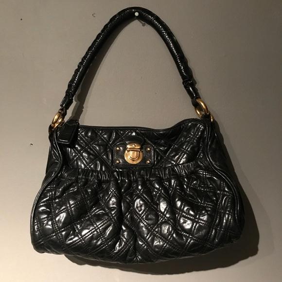 bcc8e5d71c3c Marc Jacobs leather quilted Italian handbag. M 5aa7684b46aa7c81ac4ca0e3